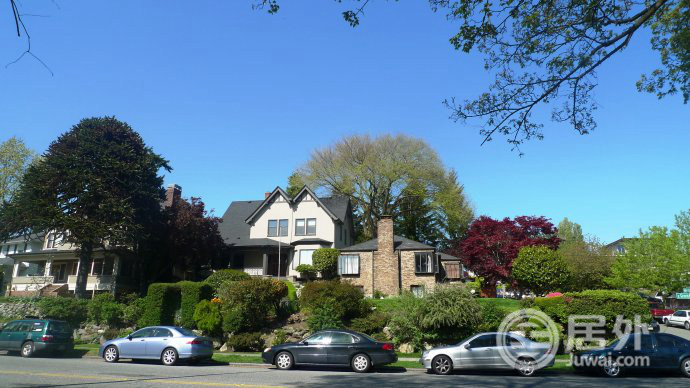 经济发达、就业机会多且房价合理,西雅图自然成为难得的安居乐业之地!图为西雅图当地最为常见的house