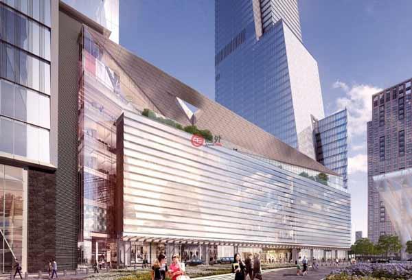 哈德逊城市广场项目位于纽约市曼哈顿的心脏地带,是曼哈顿唯一仅剩的一块可开发用地,占地达10.5公顷,规模空前