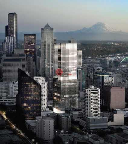 西雅图Lenora街大楼项目由马丁.塞林格地产主导开发,由公司开发的高档办公项目遍布整个西雅图,公司创始人Martin Selig先生也凭借其地产公司的优越表现,早已跻身美国《福布斯》富豪榜