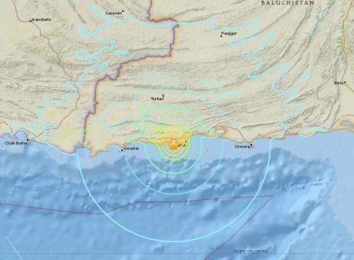 巴基斯坦发生地震 目前暂无出现伤亡报告