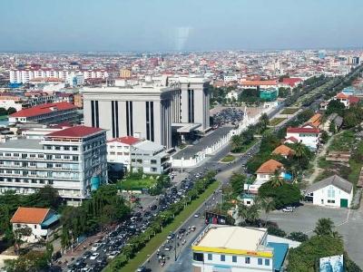"""像东南亚和中亚等""""一带一路""""市场,後市可期;图为柬埔寨"""
