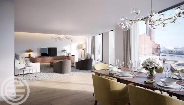 伦敦富勒姆单卧室公寓
