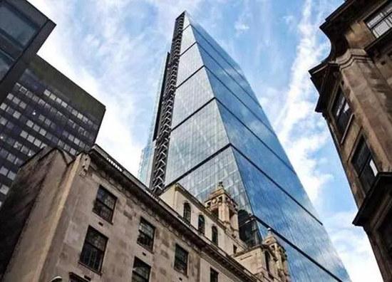 创纪录!中国人101亿现金买下伦敦金融城最高楼 | 英国