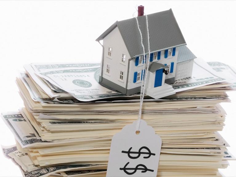 美国4月份的房价比去年同期上涨了6.9%
