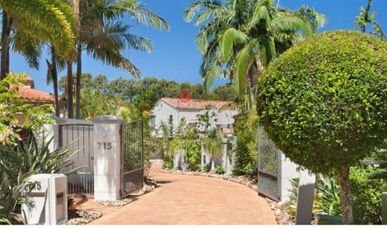 昆士兰努沙高尔夫豪宅:打造顶级生活品位、坐拥极佳花园视野 | 澳洲