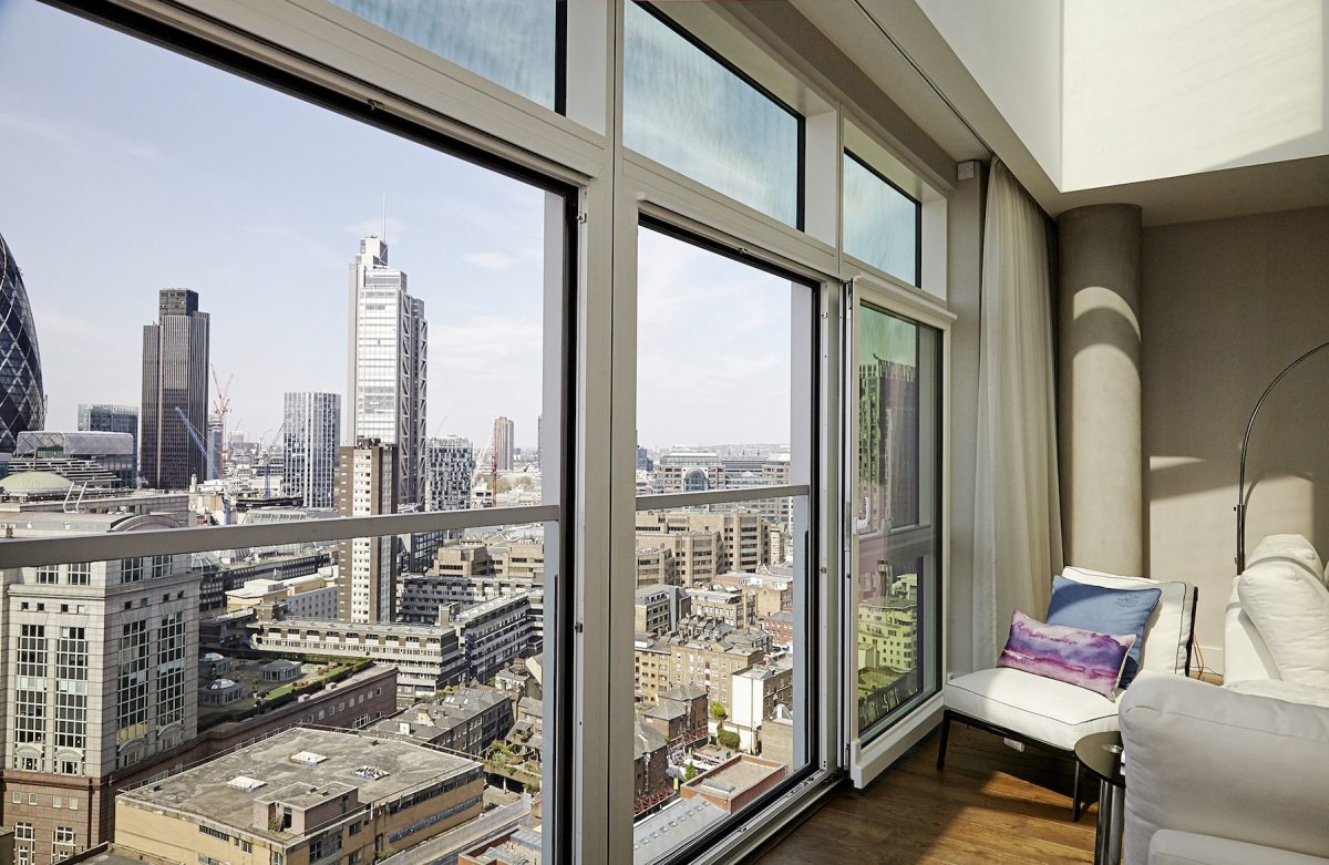 伦敦一间公寓的平均价格为 398,038 英镑