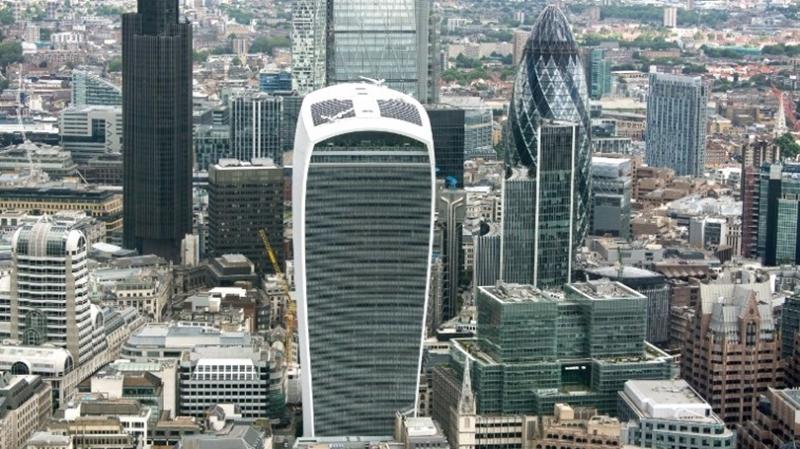 """伦敦地标""""对讲机""""大楼"""