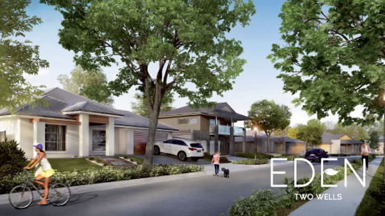 创新住宅项目Two Wells拟建的学校遵循了Hickinbotham将教育资源引入开发项目的传统