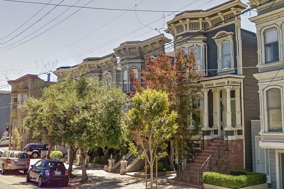 旧金山的一处房屋