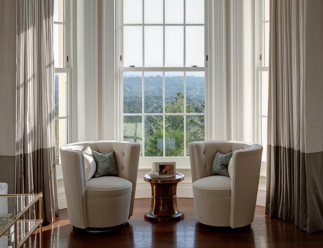 住宅设计了4个高台,能够从不同的角度欣赏壮观的美景