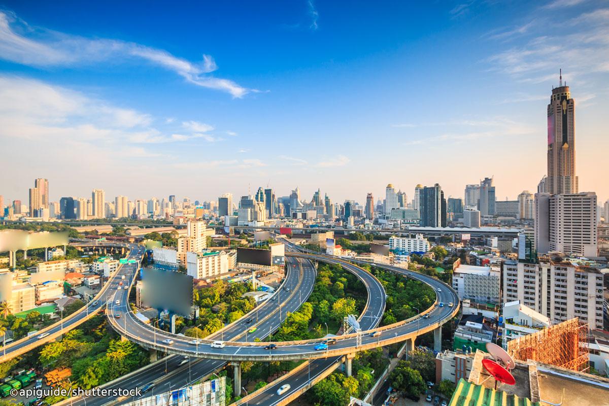 越来越多的东南亚地产中介探索中国内地市场。图为泰国首都曼谷