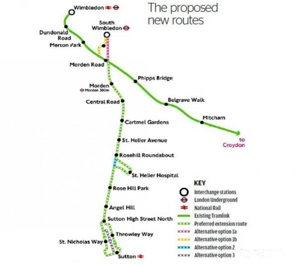 伦敦西南部有轨电车延长计划成型  这些地方房产要升值? | 英国