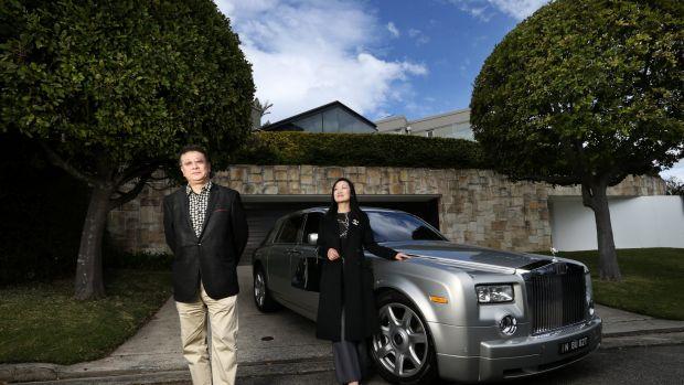 悉尼苏富比国际房地产购置劳斯莱斯豪华轿车接载中国看房团(图片来源:Louise Kennerley)