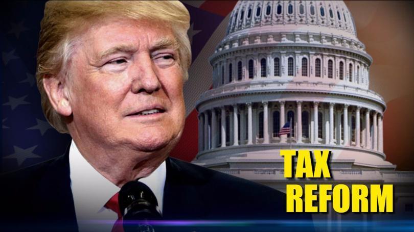 美国总统特朗普公布了最新的税改计划框架,税改的目标为通过减轻中小企业税负和对企业海外利润征税来提振美国经济和创造就业