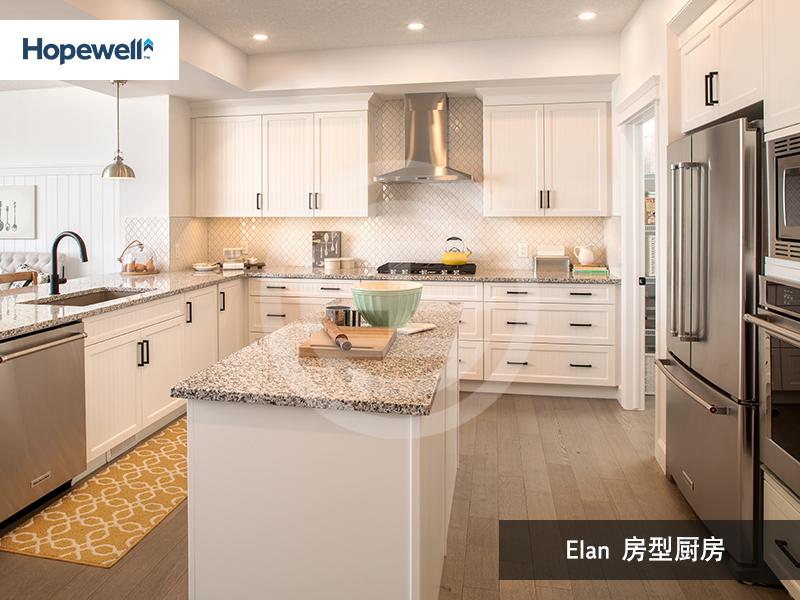Mahogany样版房实景——Elan房型厨房