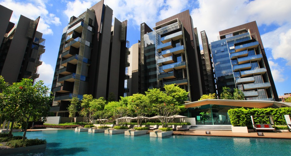 新加坡第10区的黄金地段的豪华公寓Leedon Residence