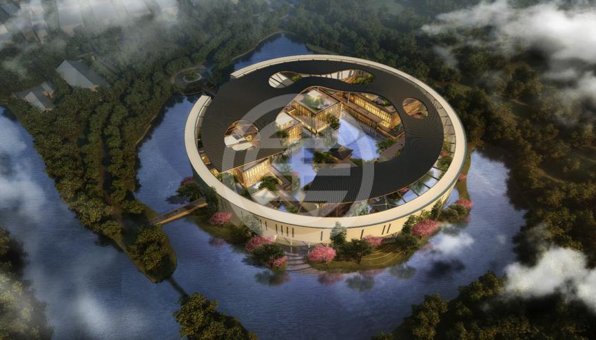 湖畔大学实体校园设计图
