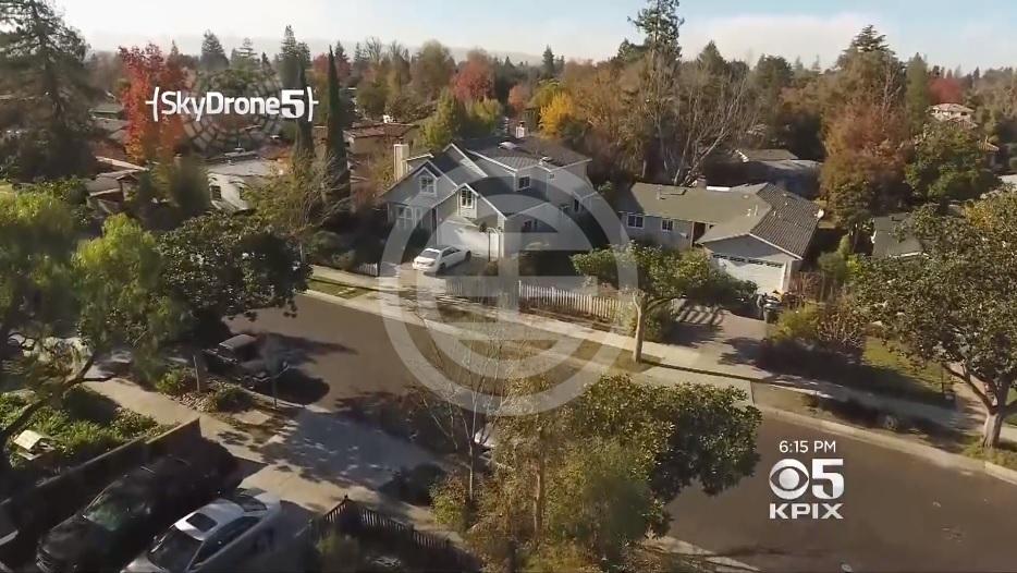 帕洛阿图Colorado Avenue的物业溢价100万美元(截图自CBS News)