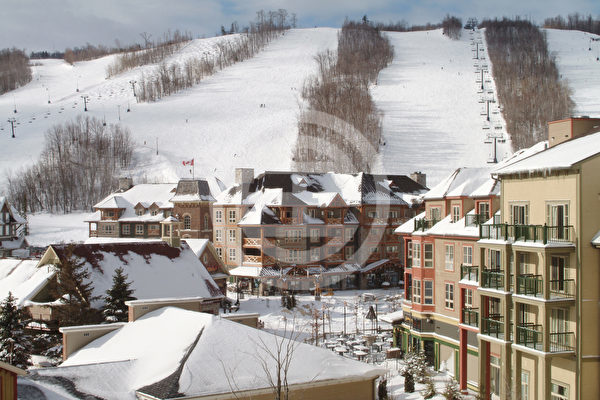 加拿大安省蓝山滑雪场物业再次受到青睐