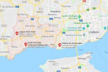 Oeiras  位于里斯本西部,属于大里斯本区