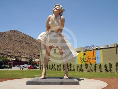 棕榈泉玛丽莲·梦露雕像