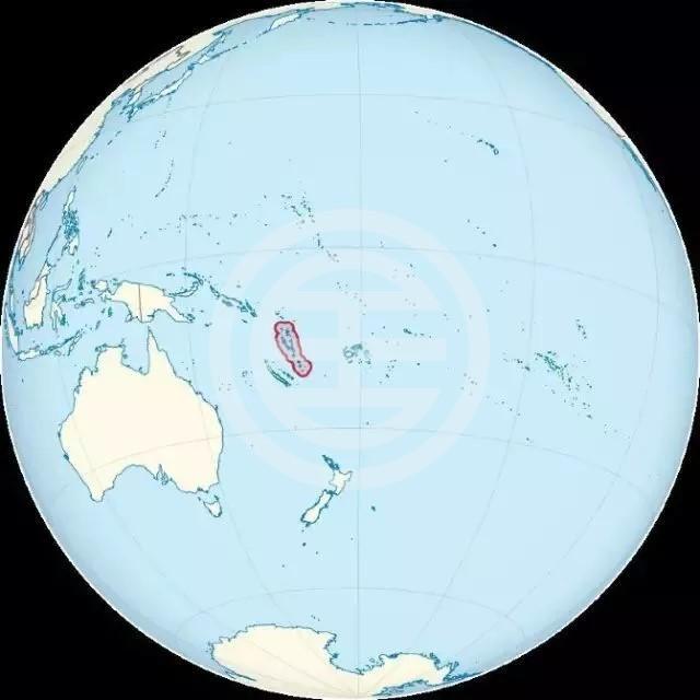 瓦努阿图地理位置