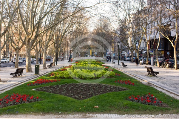 """葡萄牙最豪华的街道""""自由大道"""",媲美巴黎香榭丽舍大街"""