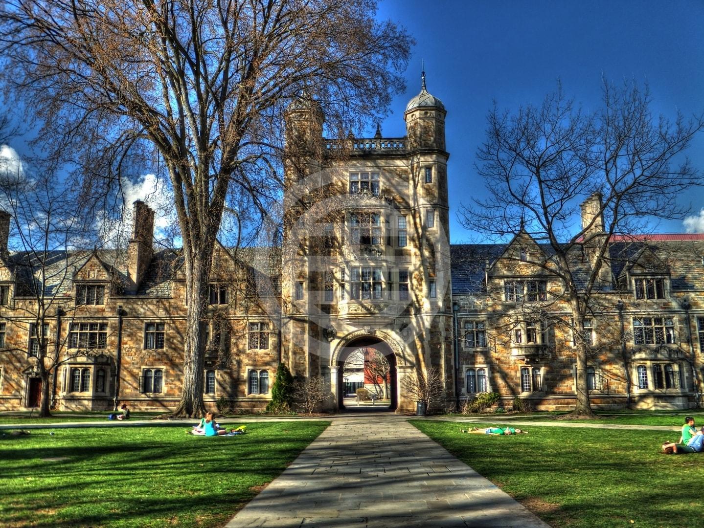 密歇根大学法学院四合院