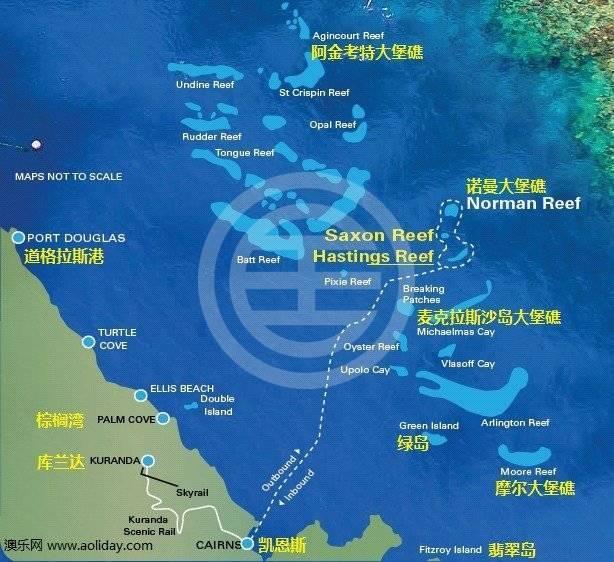 凯恩斯拥有澳大利亚最大的海洋旅游产业,是进入世界七大自然奇观之一大堡礁的门户