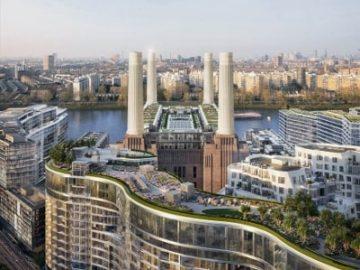 兼具投资教育居住三优势 走近伦敦巴特西电站项目