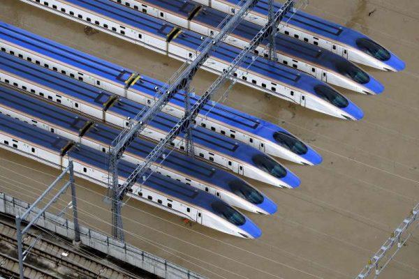 长野县的新干线机厂淹水