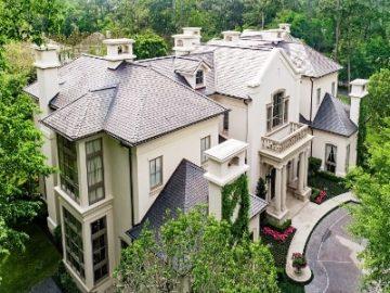 """休斯顿的欧式""""古堡住宅"""",让你秒变优雅贵族︱居外精选"""