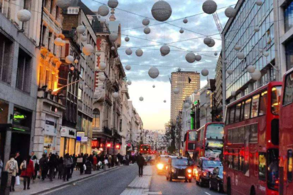 伦敦人均收入