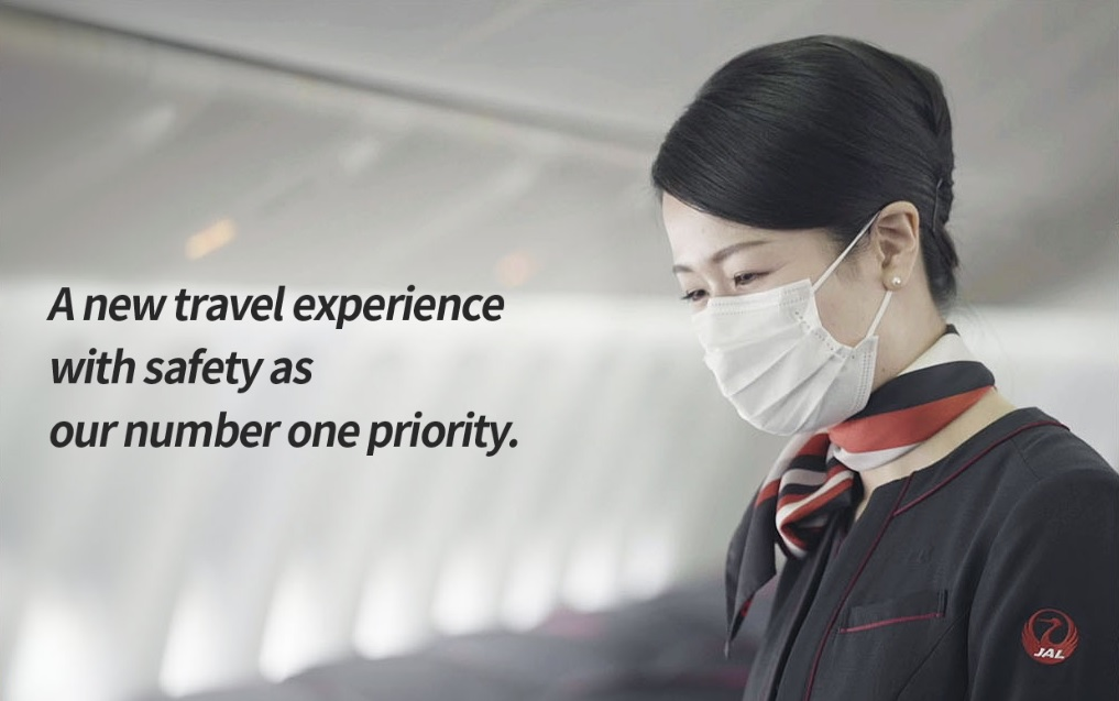 Japan Airlines introduces new health and safety measures.