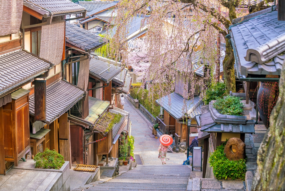Kyoto, one of the best city for property investment in Japan