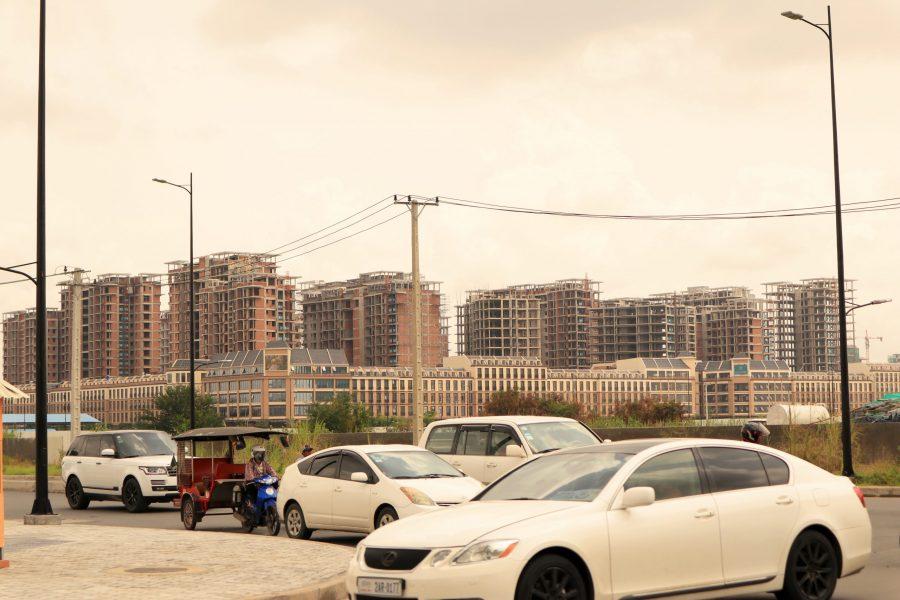 condominium house in cambodia
