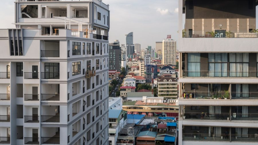 Serviced Apartments housing in cambodia