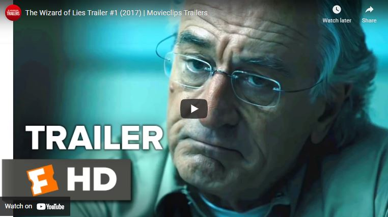 The Wizard of Lies trailer