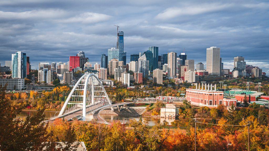 Edmonton, capital of Alberta
