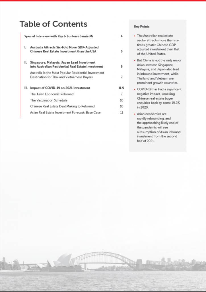 tableofcontents_Q1 2021 Report Asian Investment in Australia