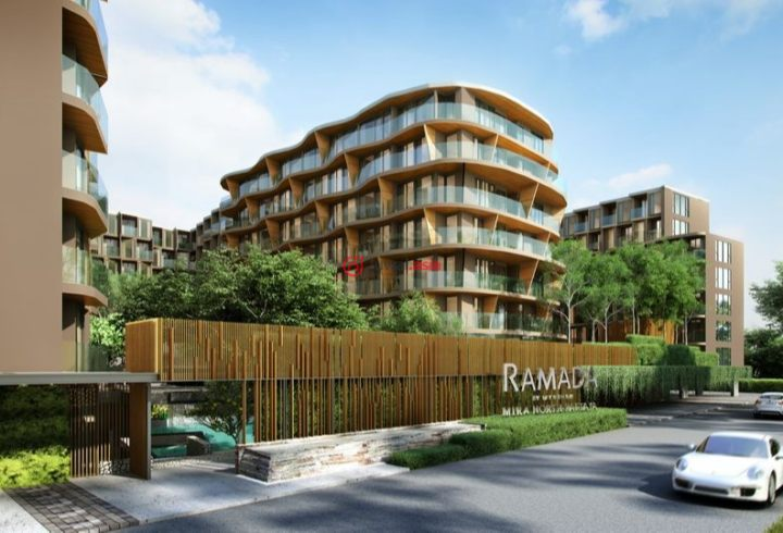 Freehold condominium project in North Pattaya Road