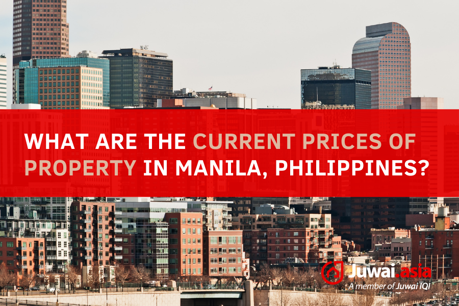 current prices of property in Manila, Philippines